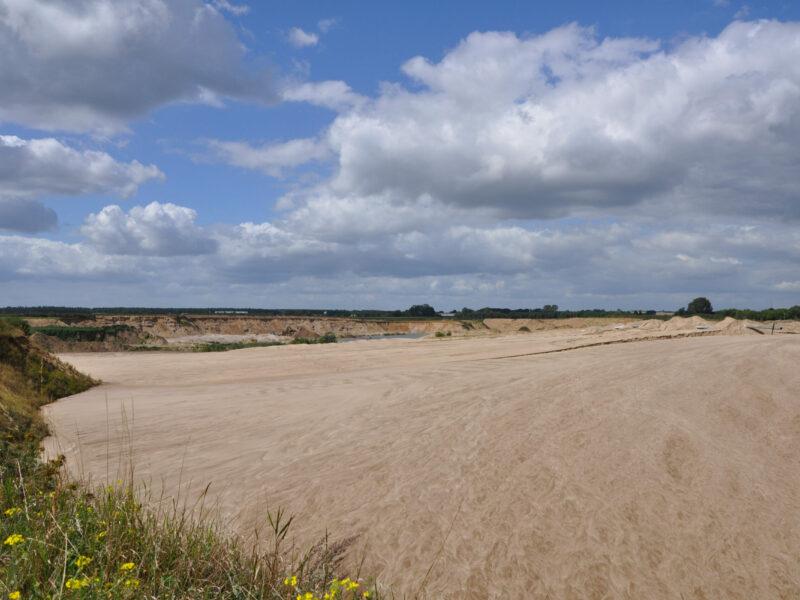 Sandwüste Solarpark